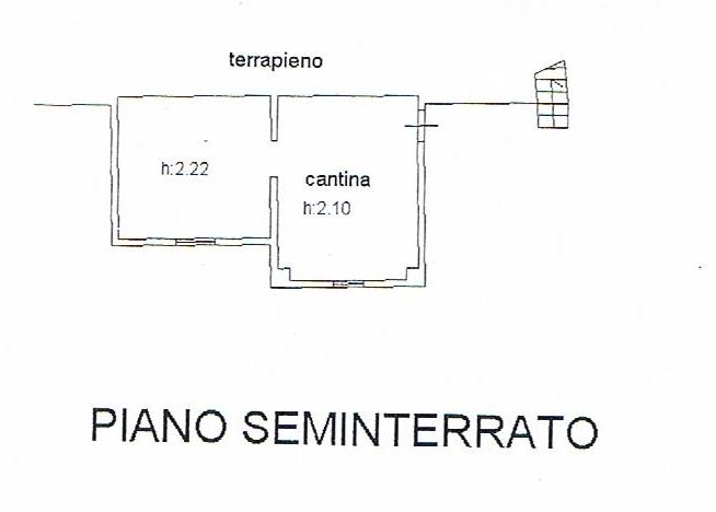 PLANIMETRIA SEMINTERRATO