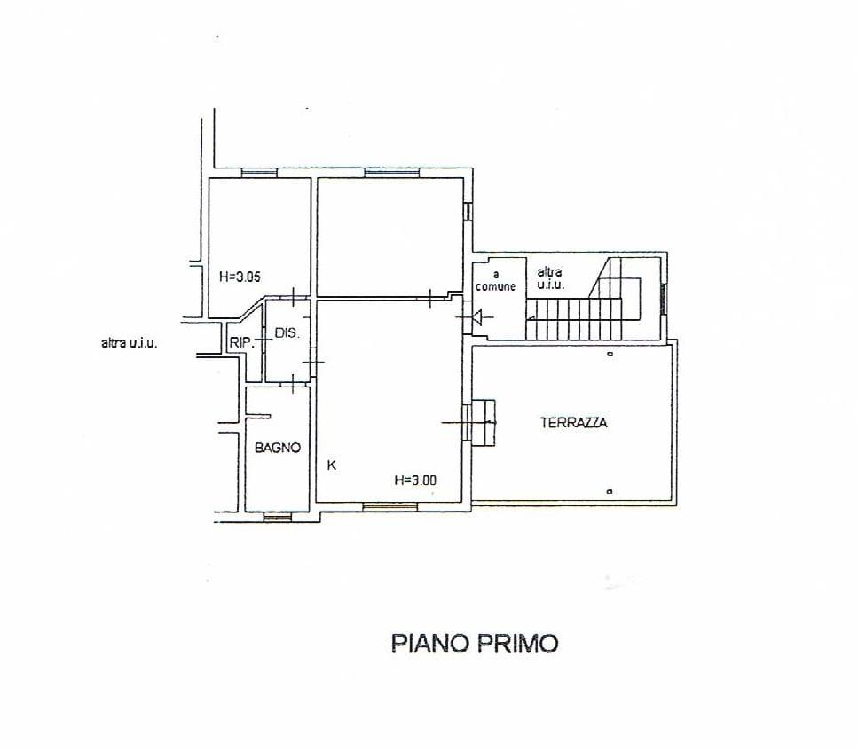 PLANIMETRIA TECNICA PIANO PRIMO