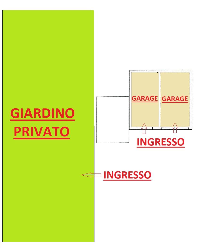 PLANIMETRIA GIARDINO E GARAGE