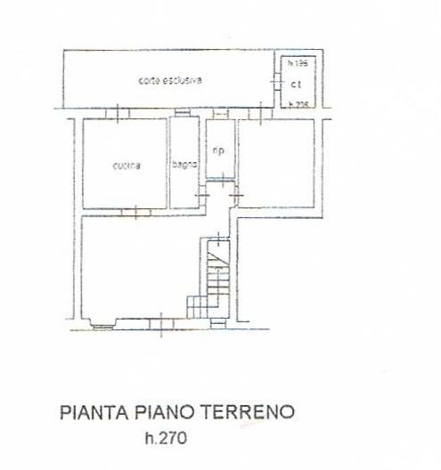 PLANIMETRIA TECNICA PIANO TERRA